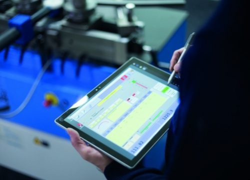 Automation for bending machine, PBT Tablet Control