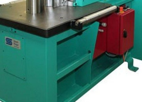 Bending machine manufacturer STIERLI BIEGER 1300 HORIZONTAL RAM BENDER