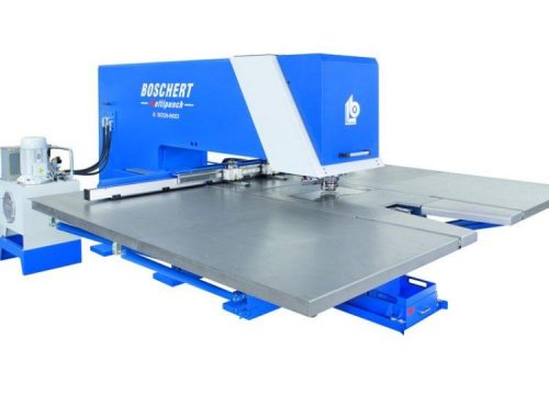 Complex punching machine, Boschert Multi-Punch MP 1500