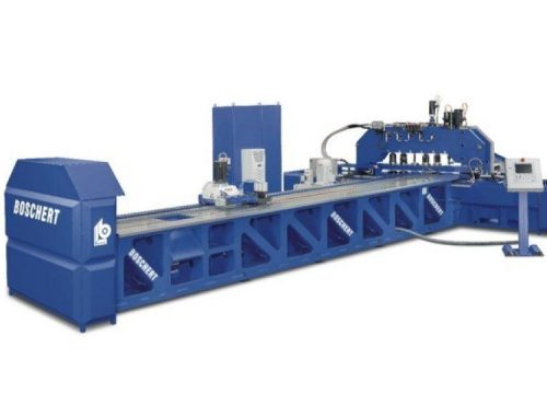Copper bar processing machine manufacturer, Boschert CUWK