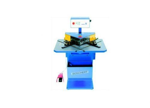 Hydraulic notcher, Boschert Eagle notching machines