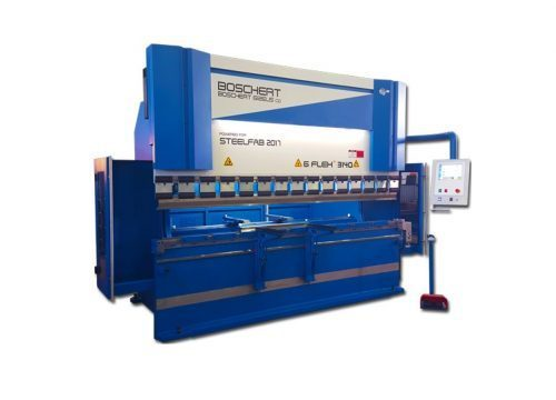 Hydraulic press brake GFLEX, industrial Gizelis press brake