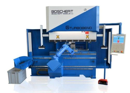 Hydraulic press brake Gizelis Robobend