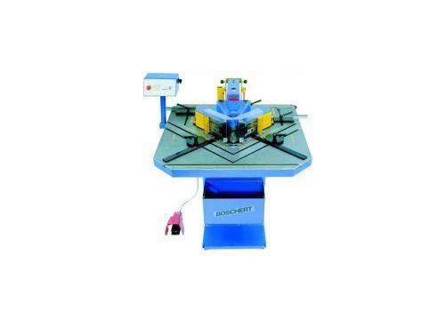 Notching machine manufacturer, Boschert Silver Eagle series with TRI-GIDE technology