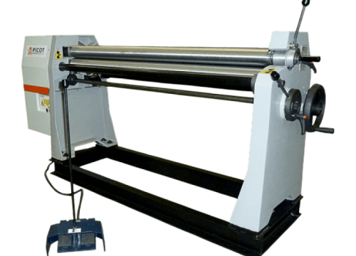 Plate roll bending machine, RAE Bender