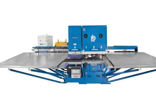 Punch laser combination machine Boschert Combilaser