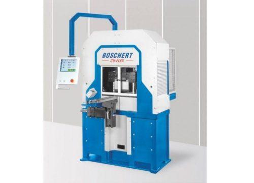 Punching bending shearing CU flex machine for copper, aluminium, steel