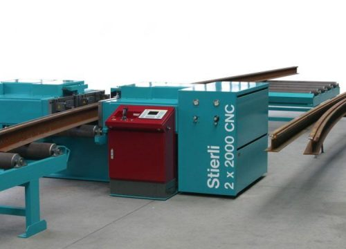 Rail bending machine manufacturer, Stierli rail bender