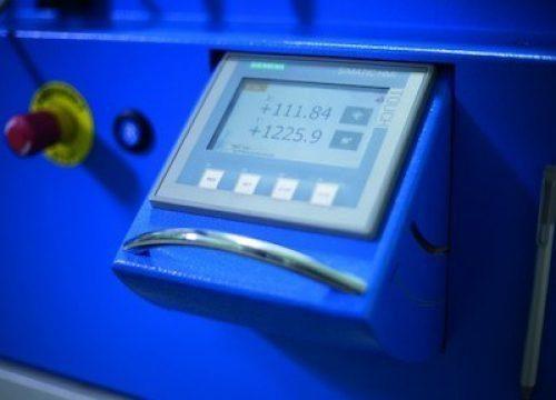 Bending machine control PBT Teach-In Control